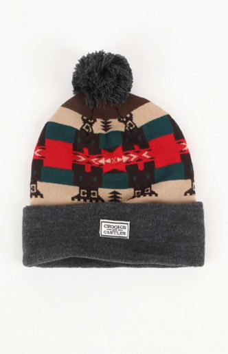 Crooks and Castles Mayan Beanie at PacSun.com