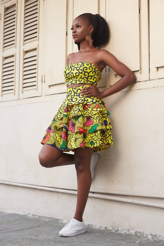 African Top, African Clothing, African Print Top, African Print Clothing, African Print Corset Crop #africanprintdresses