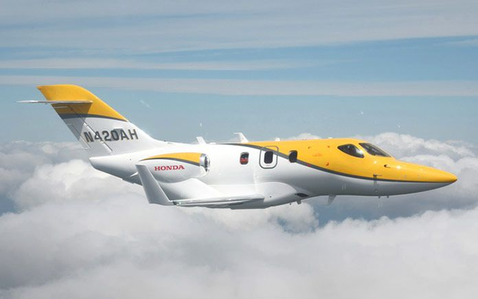 Honda Aircraft Company Delivers First HondaJet in Europe.  #hondajet #privatejet #businessjet #aviation #luxury #luxurytoday