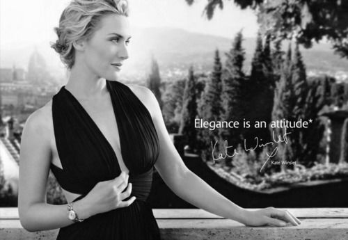 Elegance Is An Attitude Kate Winslet For Longines Kate Winslet Hello Gorgeous Gorgeous Women