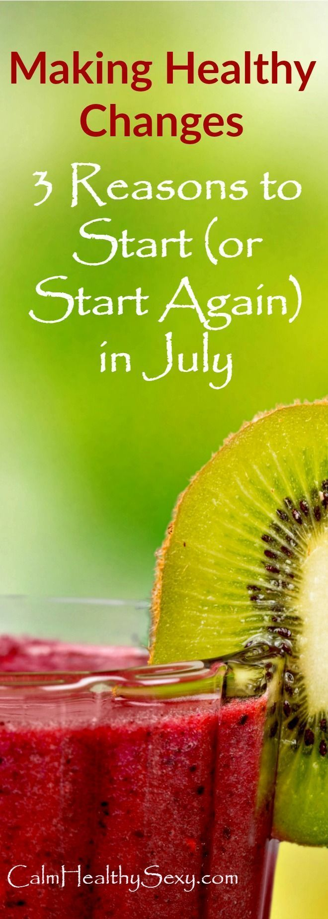 July is the perfect time to make healthy changes in your life, whether you're just getting started,...