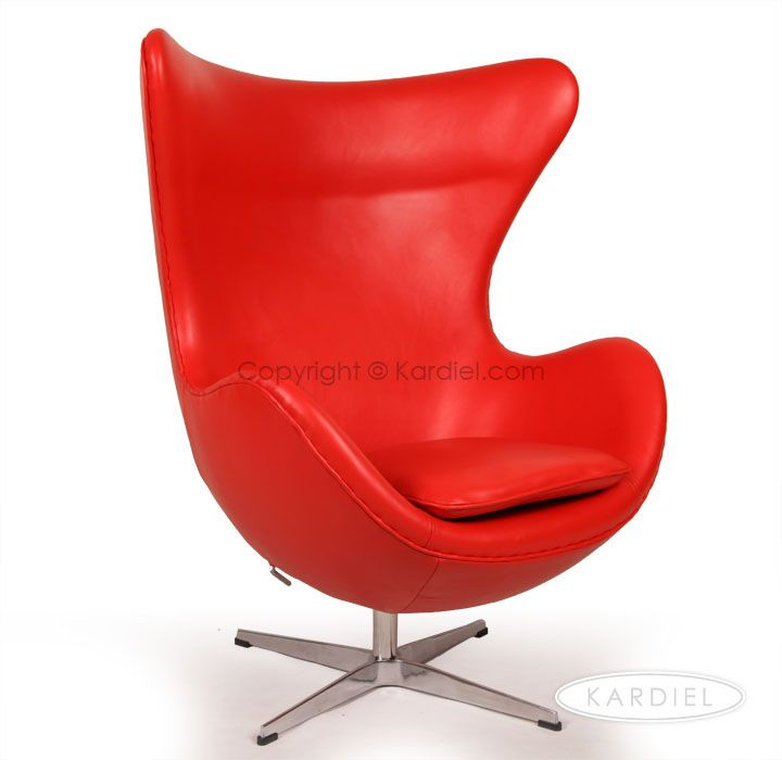 Red Egg Chair | Round Egg Chair | Furniture |