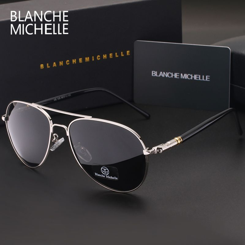 a1a06d541ea 2016 New fashion High Quality Polarized Sunglasses Men luxury Brand  Designer Cool Driving UV400 vintage Sun Glasses with box