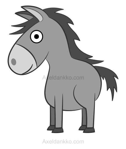 Comment Dessiner Un âne Donkies