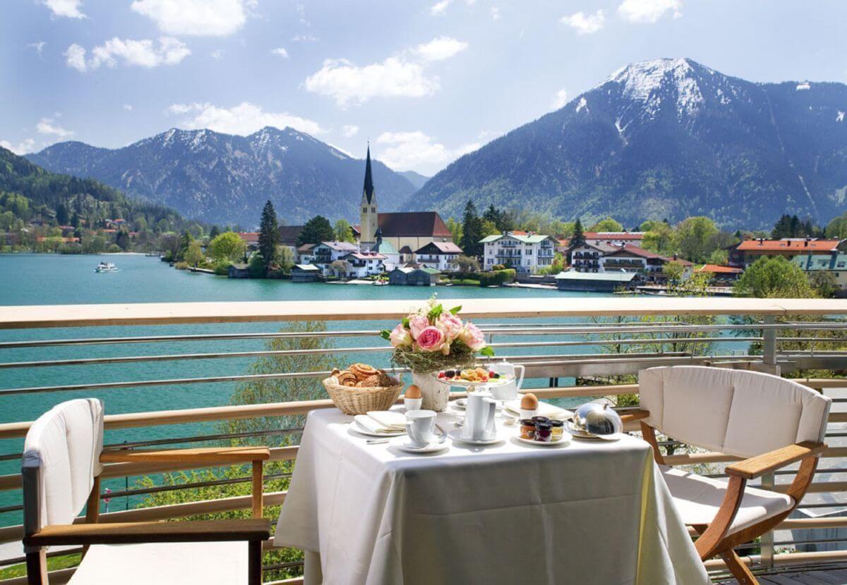 Fruhstuck Alpenpanorama Tegernsee Althoff Seehotel Uberfahrt Hotels Tegernsee Wellness Tegernsee