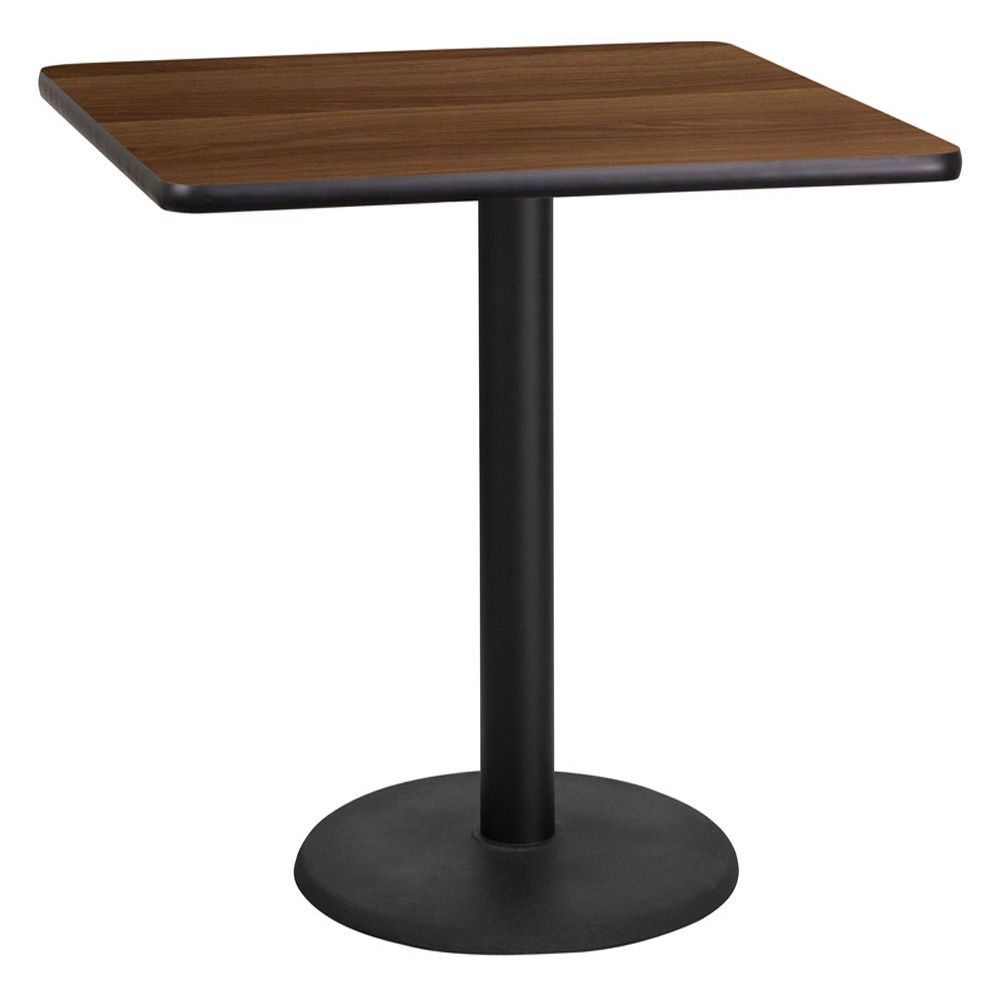Quarx 36 Inch Square Laminate Dining Table Restaurant Tables