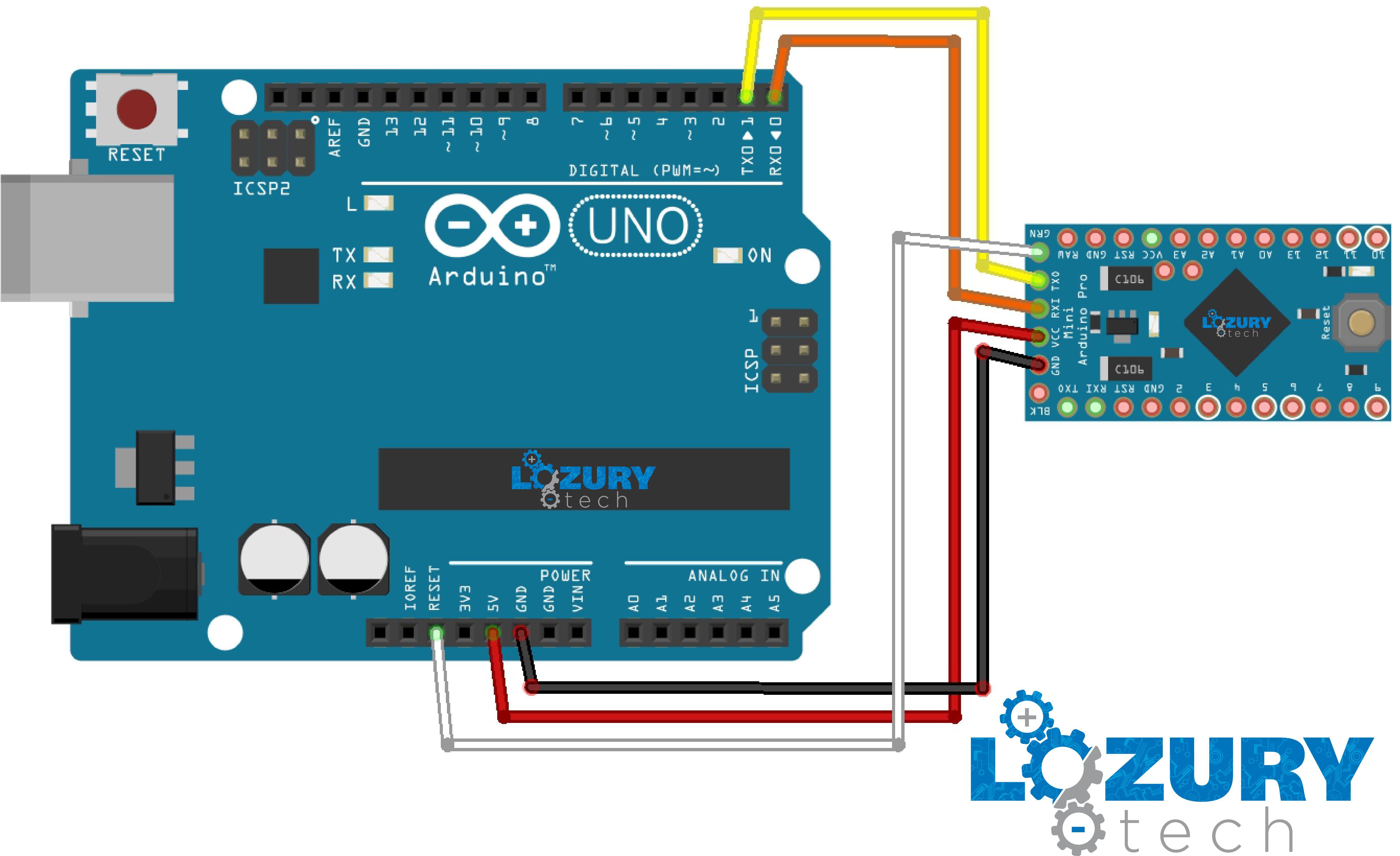 Como Programar Arduino Pro Mini Con Uno Sensor Circuits Archives Page 2 Of Gadgetronicx Robot Light House Tents