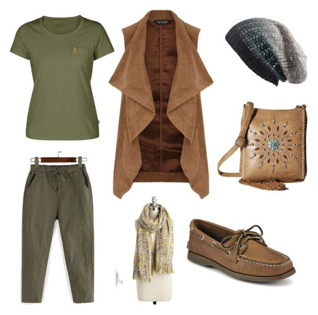 """""""Fall wear"""" by kelly-sykes-1 on Polyvore featuring Fjällräven, Dorothy Perkins, Sperry, Michael Stars and M&F Western"""