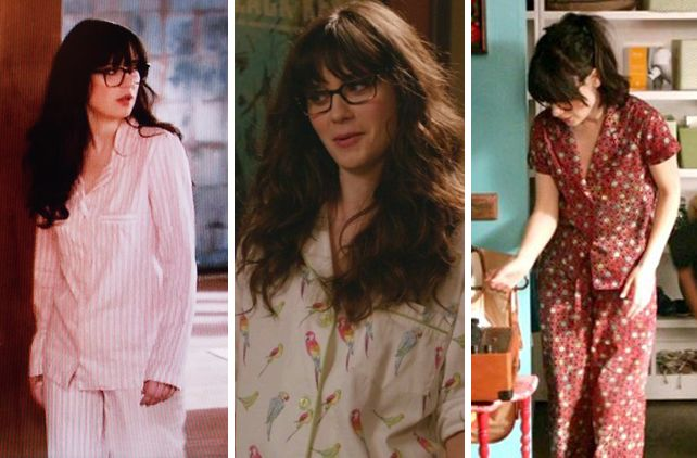 The Cult of Zooey Deschanel s Pajamas on New Girl 48b639971