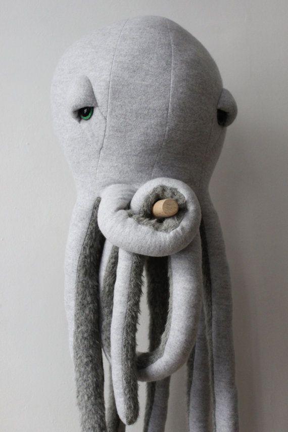 Big Octopus <O> Stuffed Animal <O> Plush Toy   Pinterest ...