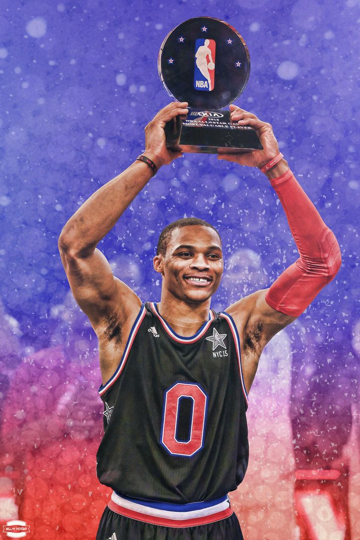 russell westbrook Drawing | Russell Westbrook MVP by ...