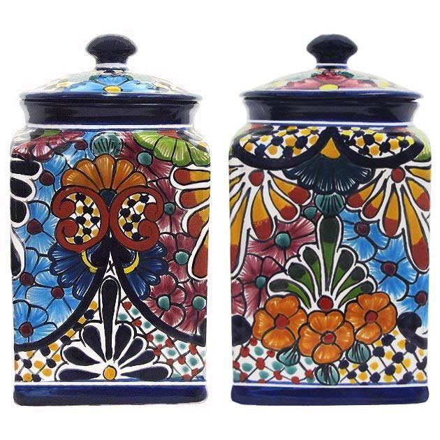 19 Talavera Canister Sets Ideas Pottery