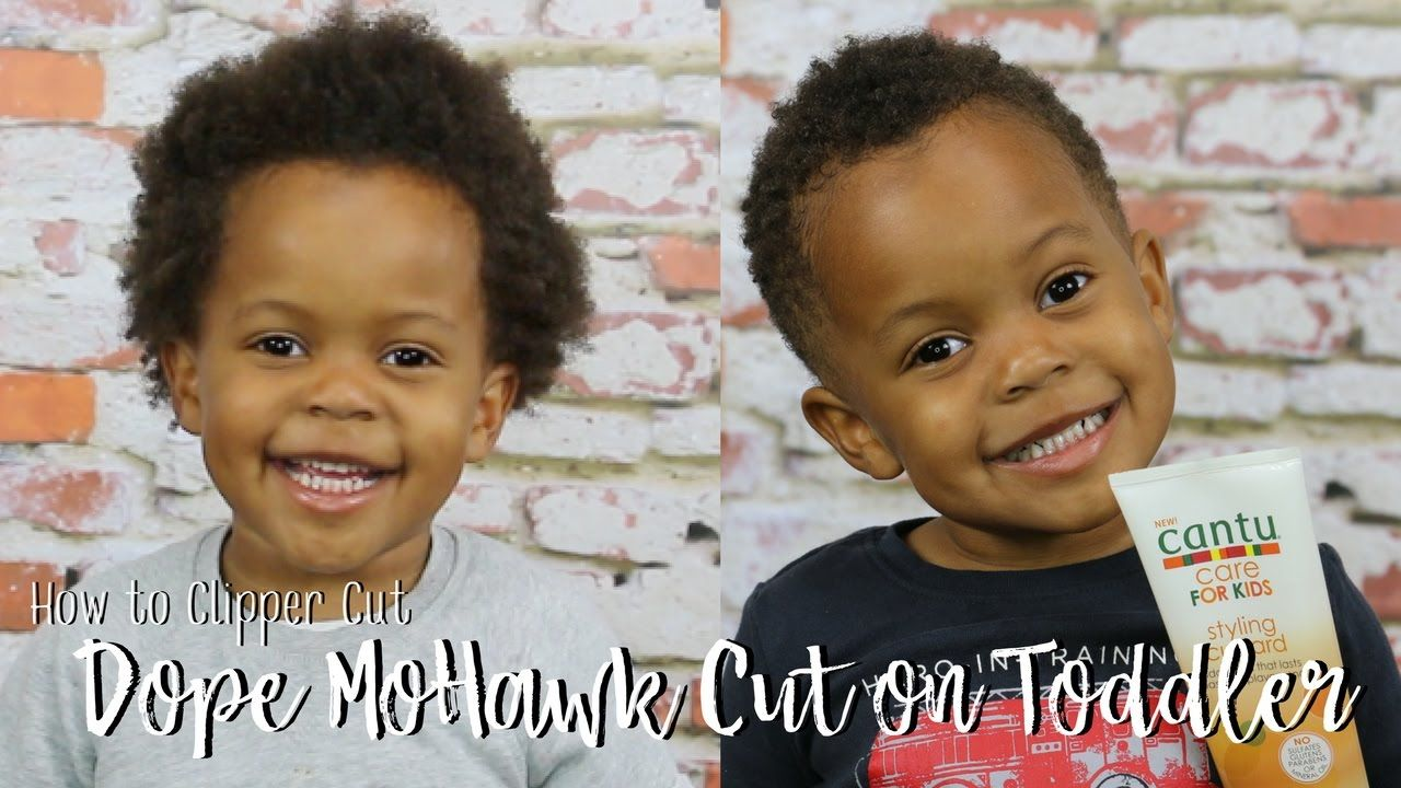 How to clipper cut a dope mohawk natural hair care for children