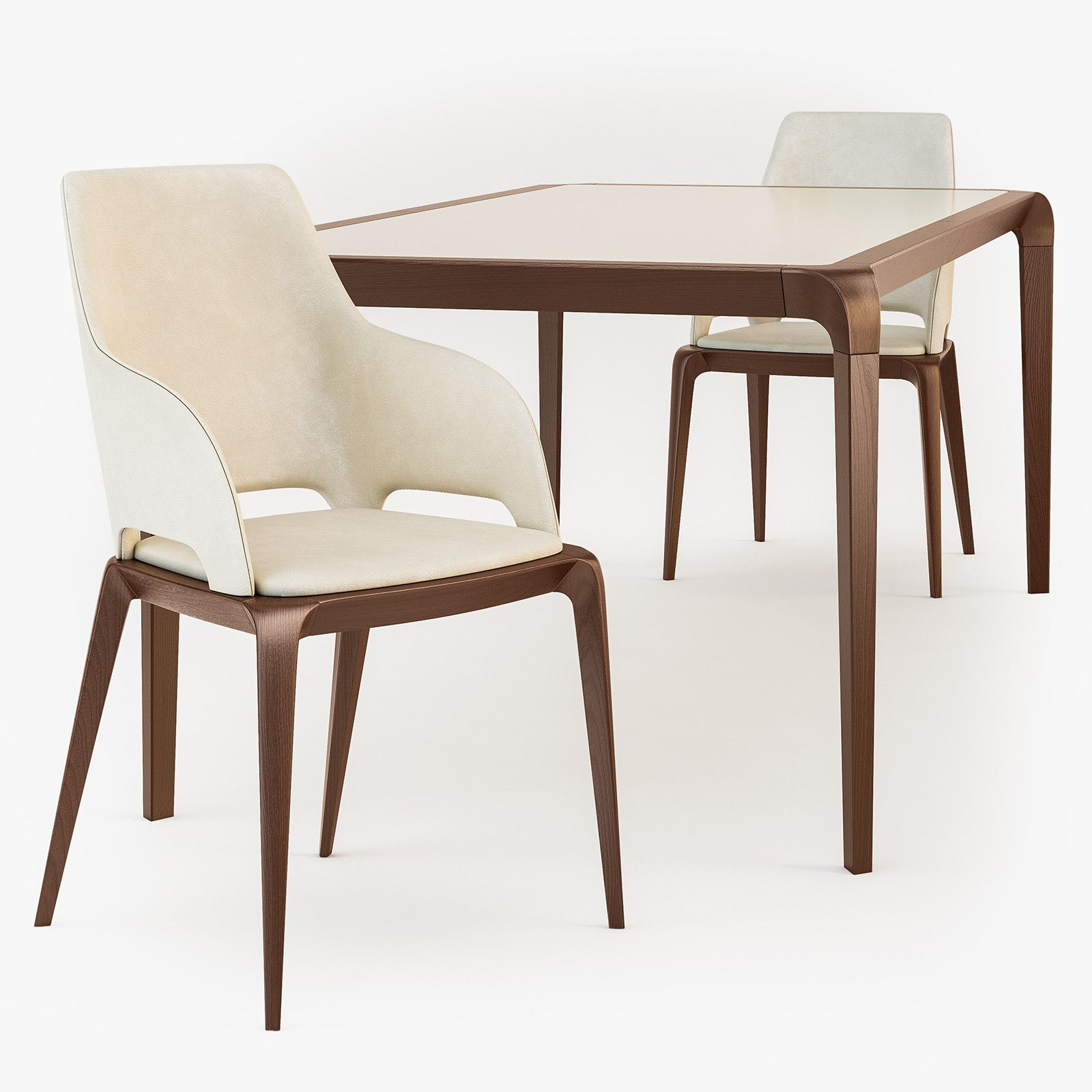 3d roche bobois brio dining table model