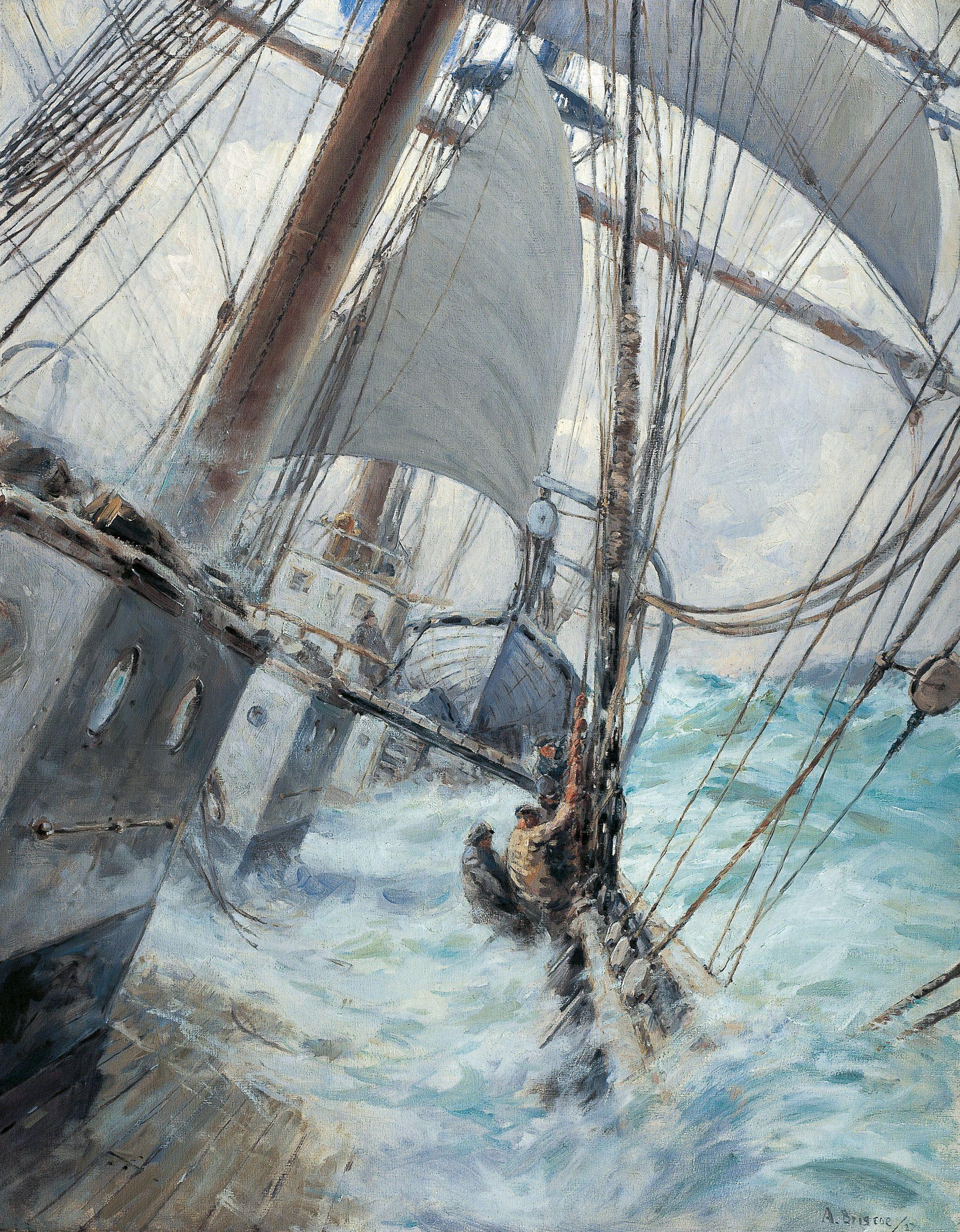 Decks Awash By Arthur John Trevor Briscoe