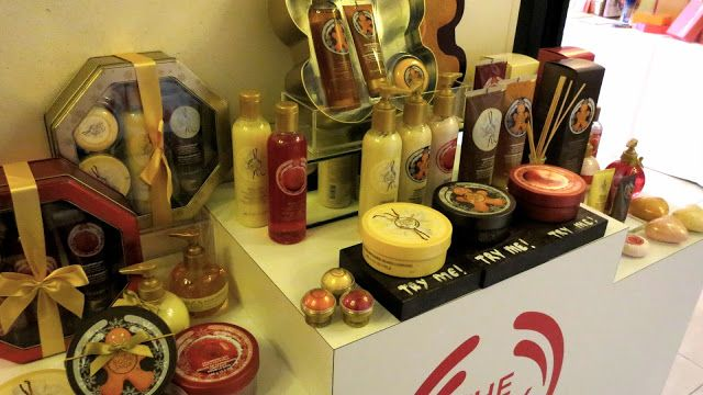 The Body Shop Christmas Collection | STYLESUZI