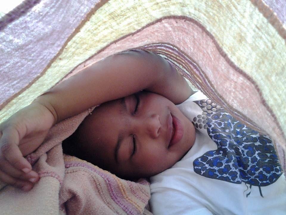 Durmiendo una siesta