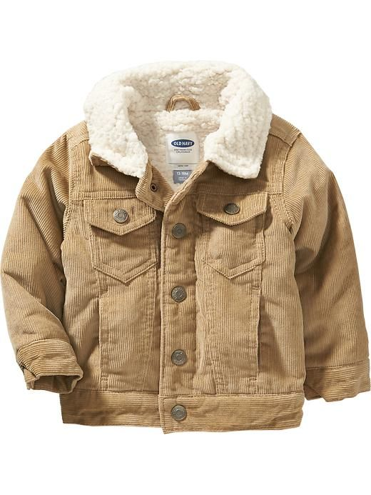 308c621d1229 Sherpa Corduroy Trucker Jacket for Both Boys - 12m and 4T