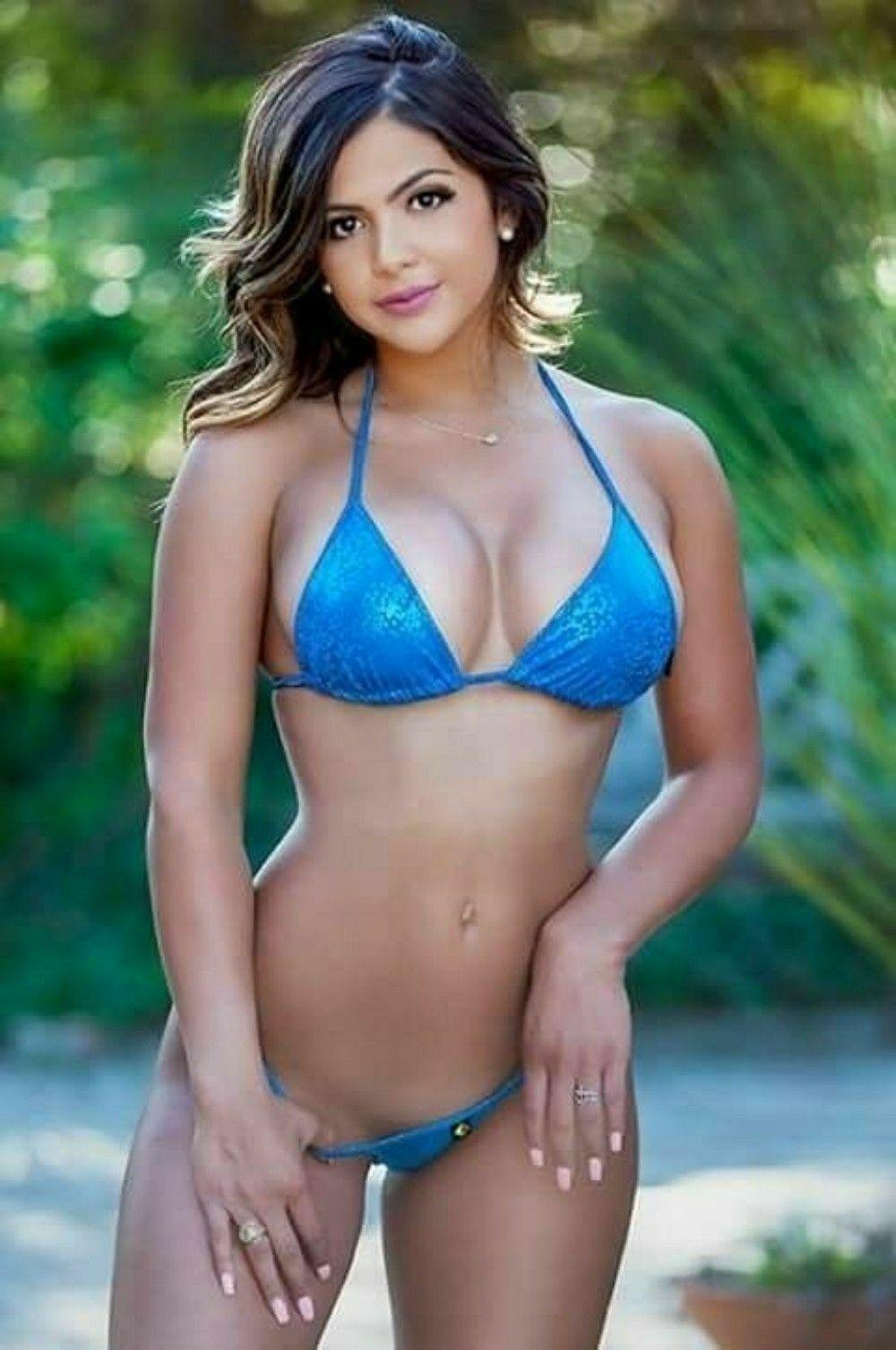 Pin by Ron VanHooser on Buxom Beauties 6 in 2019   Bikinis, Bikini girls,  Sexy bikini ca8a91a0a6
