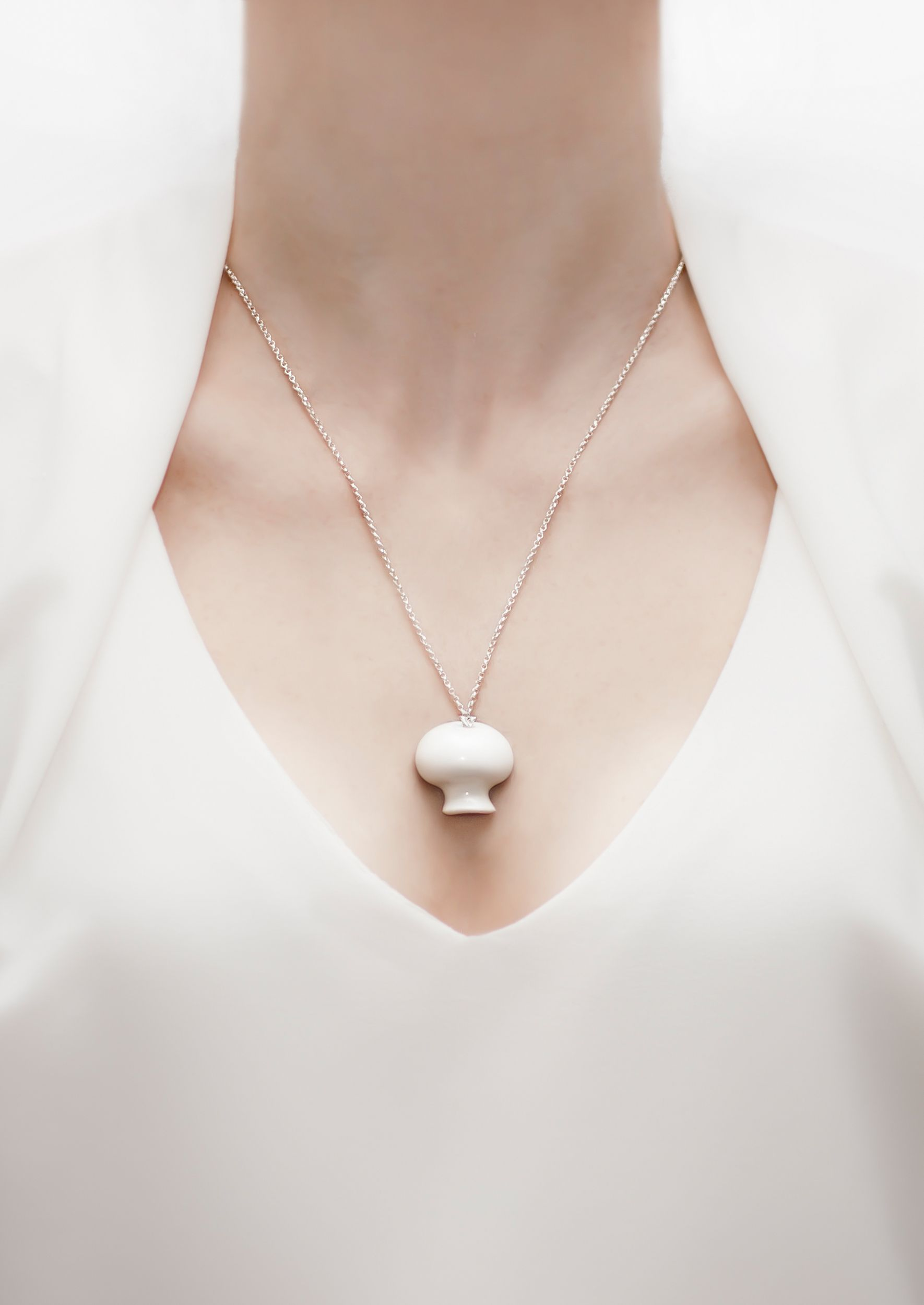 Button Mushroom Pendant | Milcincuenta | NOT JUST A LABEL