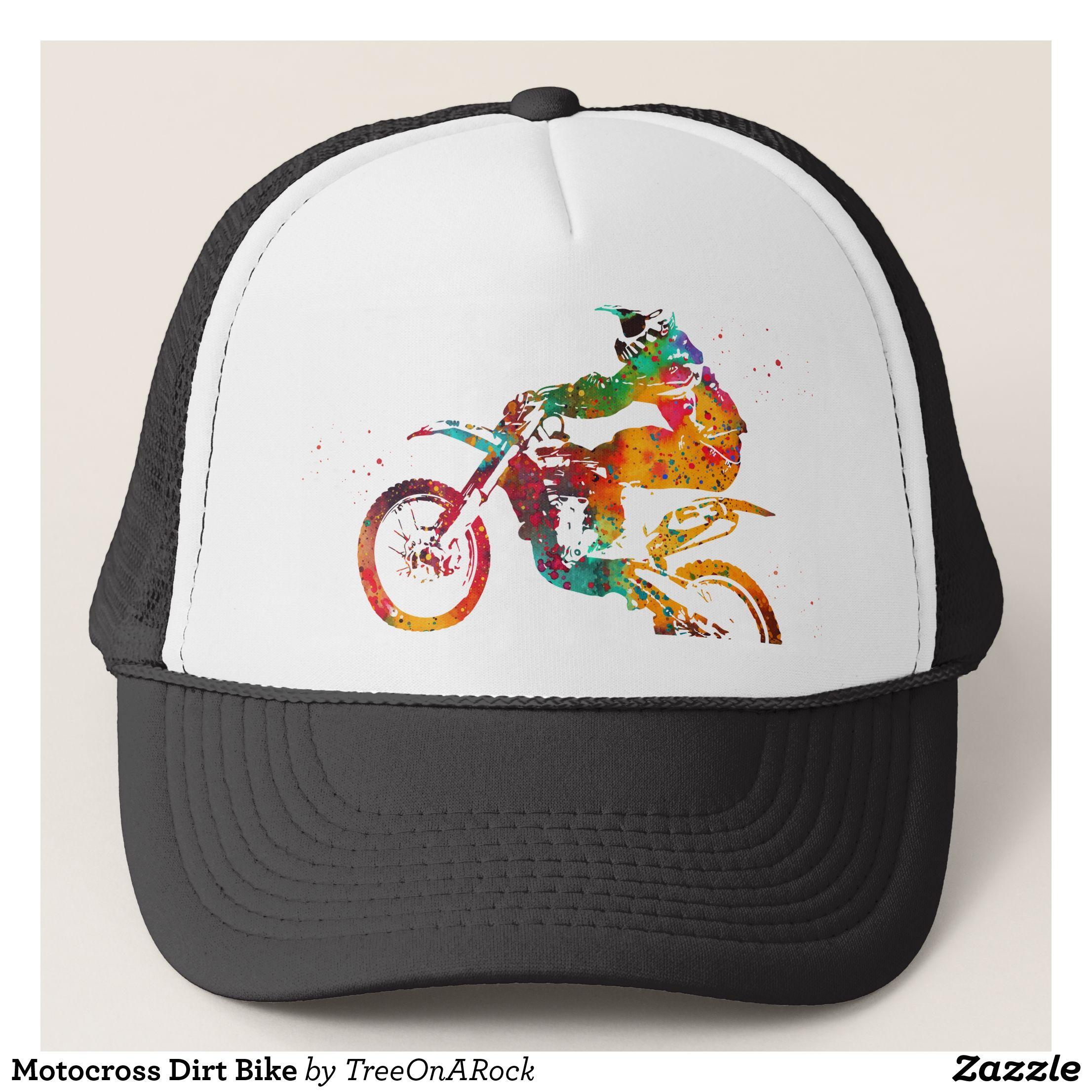 e7e54cd9996c7e Motocross Dirt Bike Trucker Hat - Urban Hunter Fisher Farmer Redneck Hats  By Talented Fashion And Graphic Designers - #hats #truckerhat #mensfashion  ...