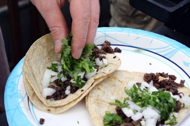 Griddled Carne Asada Tacos | The Paupered Chef #asadatacos