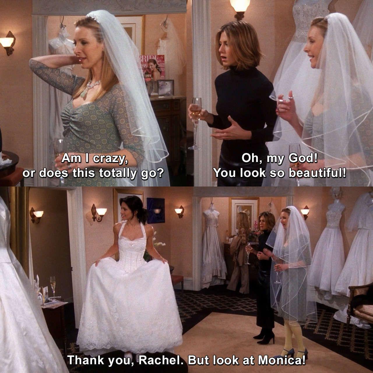 Friends The One With The Cheap Wedding Dress Phoebebuffay Rachelgreen Friends Theonewiththecheapweddingdre Friends Moments Friends Forever Monica Friends [ 1280 x 1280 Pixel ]