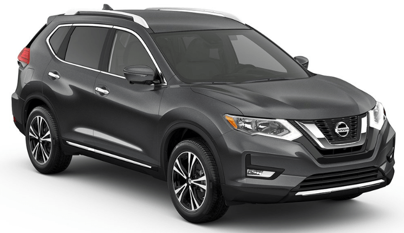 2017 Nissan Rogue Midnight Edition Nissan rogue, Nissan