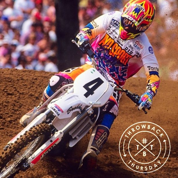 Today's #throwbackthursday photo goes back to 1992 with Damon Bradshaw! #axoracing #tbt #DamonBradshaw