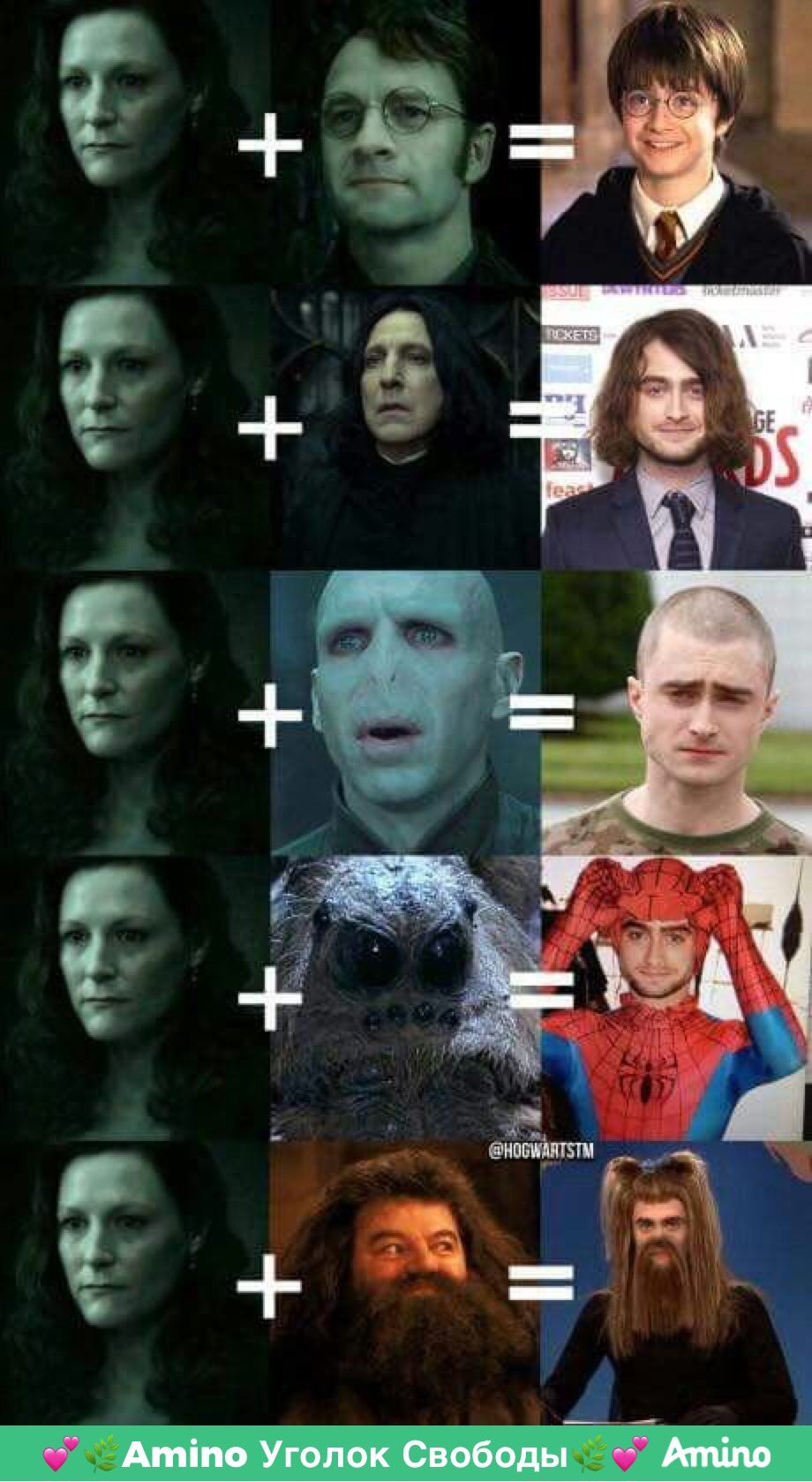 Каким был бы Гарри Поттер если его отец... (с ...
