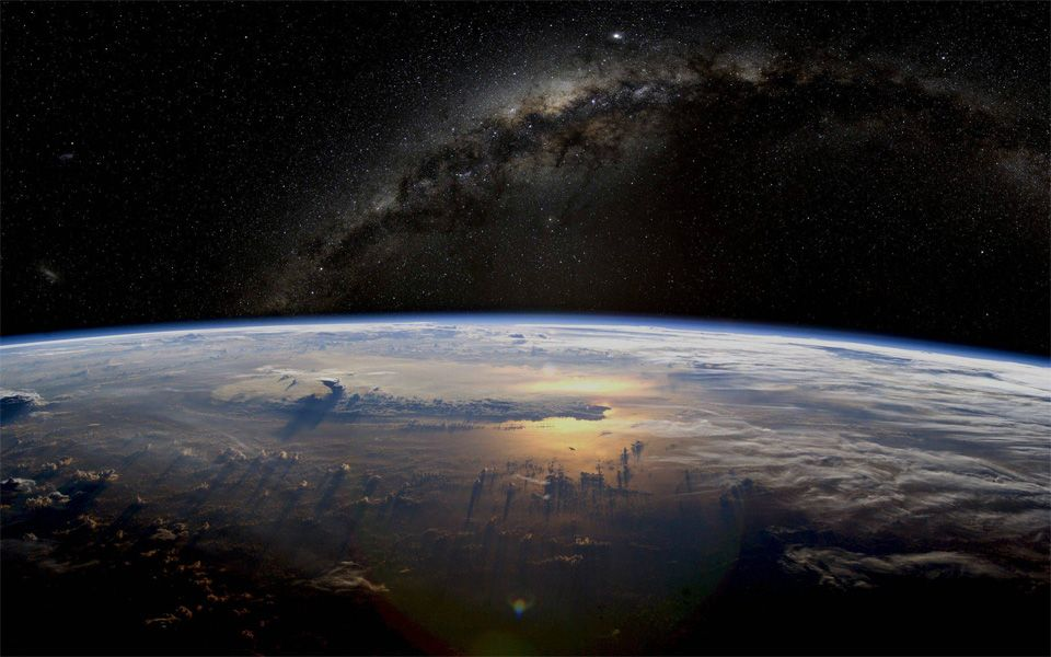 Amazing Picture Of Earth As Seen From Space By NASA