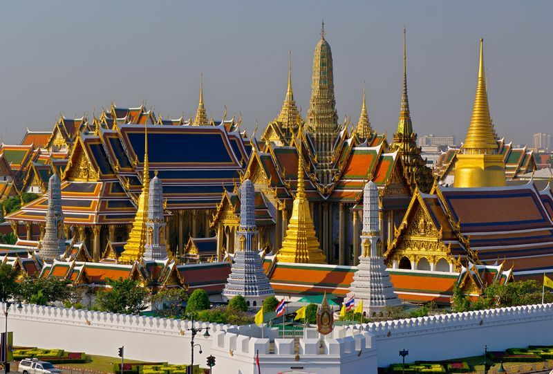 Wat Phra Kaeo Royal Grand Palace The heart of Bangkok can be found