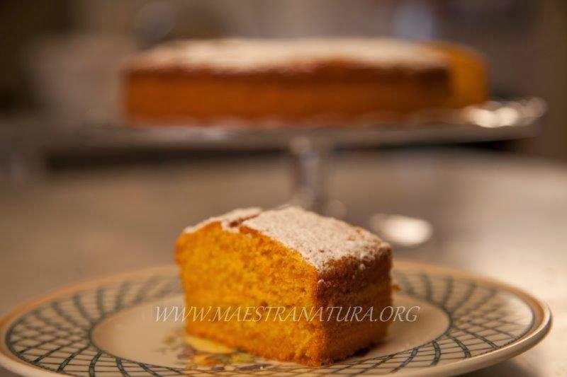 Maestra Natura - Torta integrale di mele e carote (anche senza glutine)