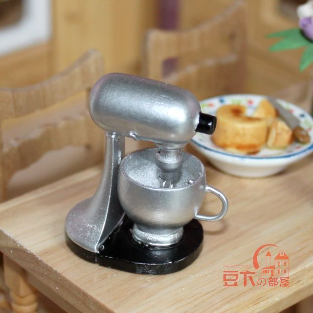 Restaurant Kitchen Accessories 1:12 mini dollhouse accessories / electric models / silver