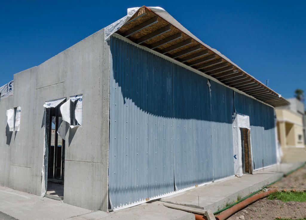 vista del frente de la casa para este proyecto se defini el exterior