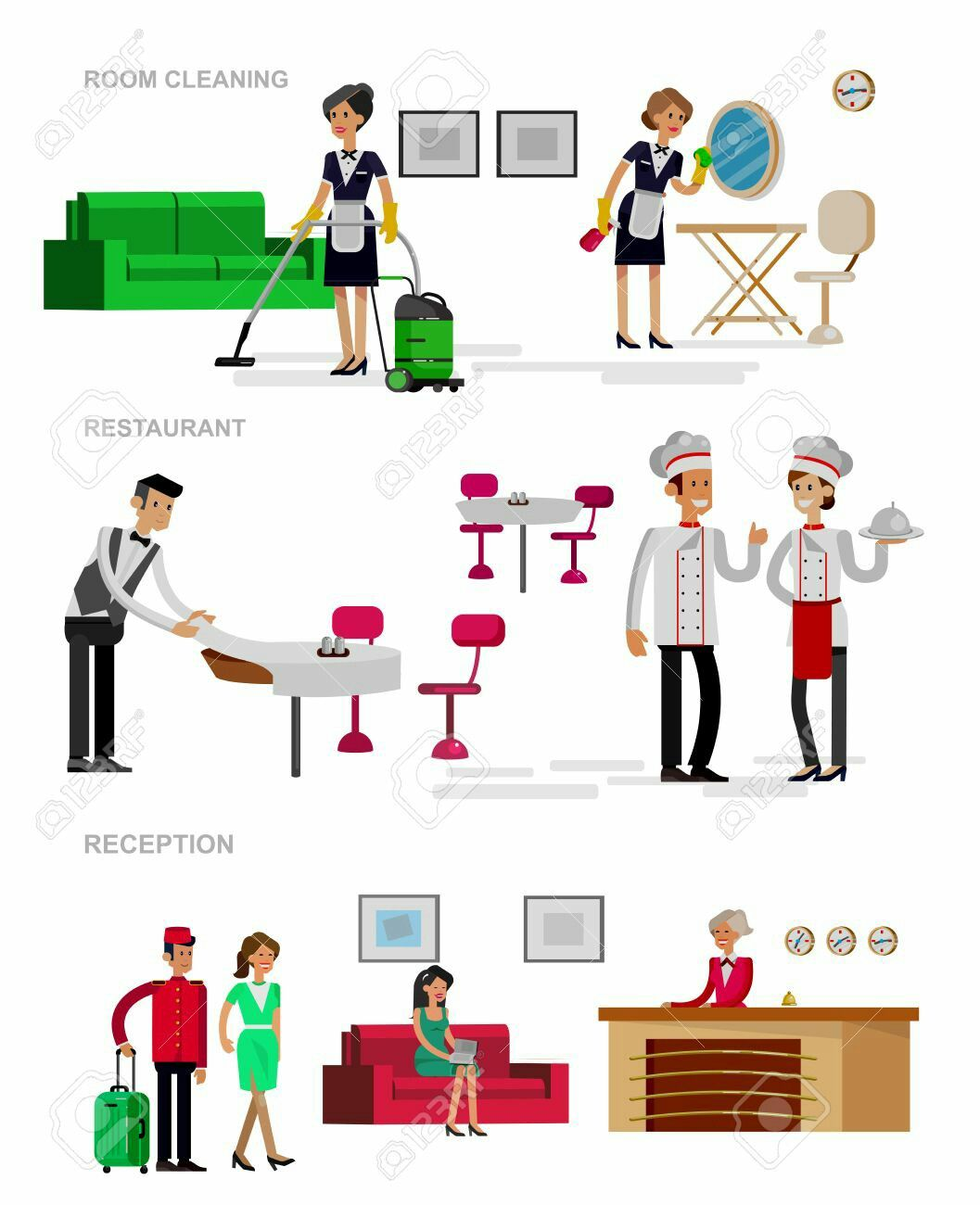 Hotel Housekeeping Services: Pin By Predrag N. On Hotel Management