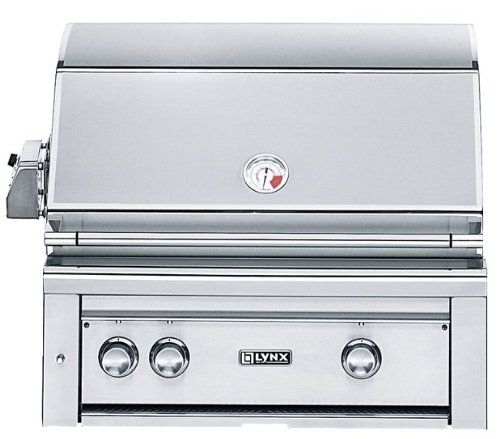 Lynx L30PSR-2-NG Built-In Natural Gas Grill with Pro Sear Burner and Rotisserie, 30-Inch - http://bbqgrates.bgmao.com/lynx-l30psr-2-ng-built-in-natural-gas-grill-with-pro-sear-burner-and-rotisserie-30-inch/
