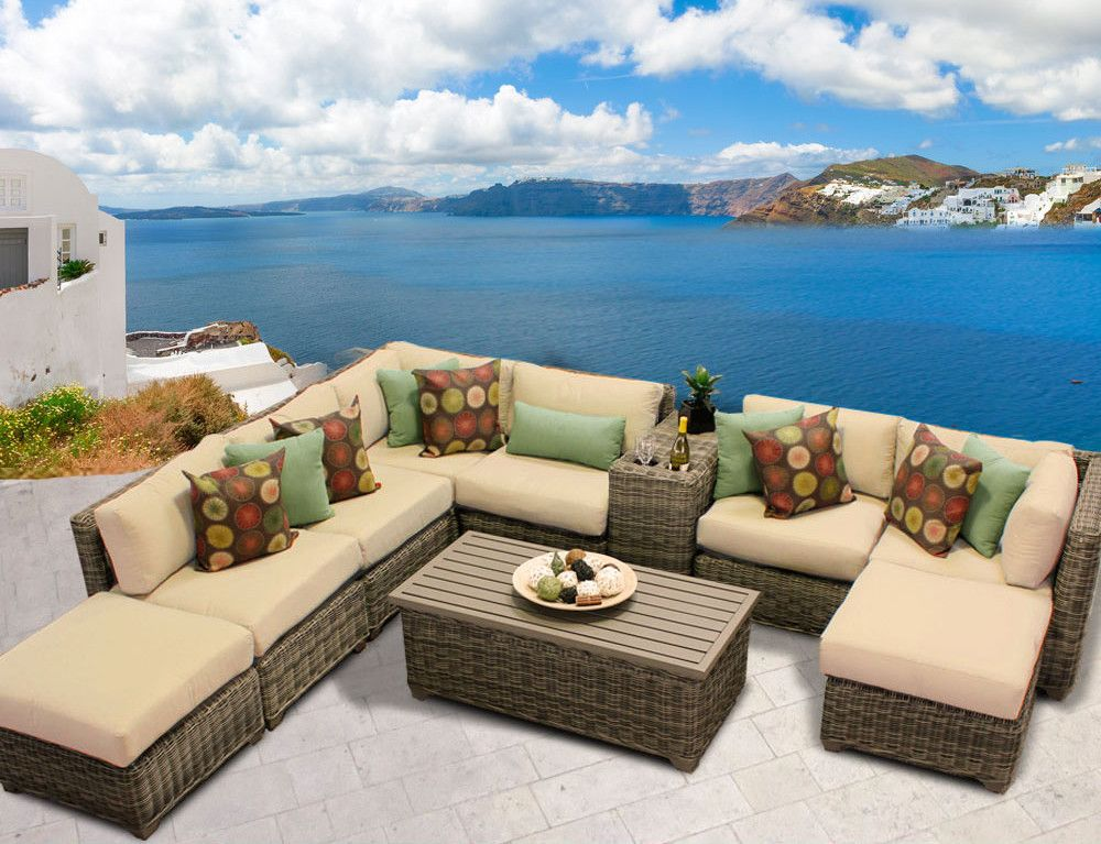 Cape Cod 10 Piece Sectional Seating Group With Cushion Products