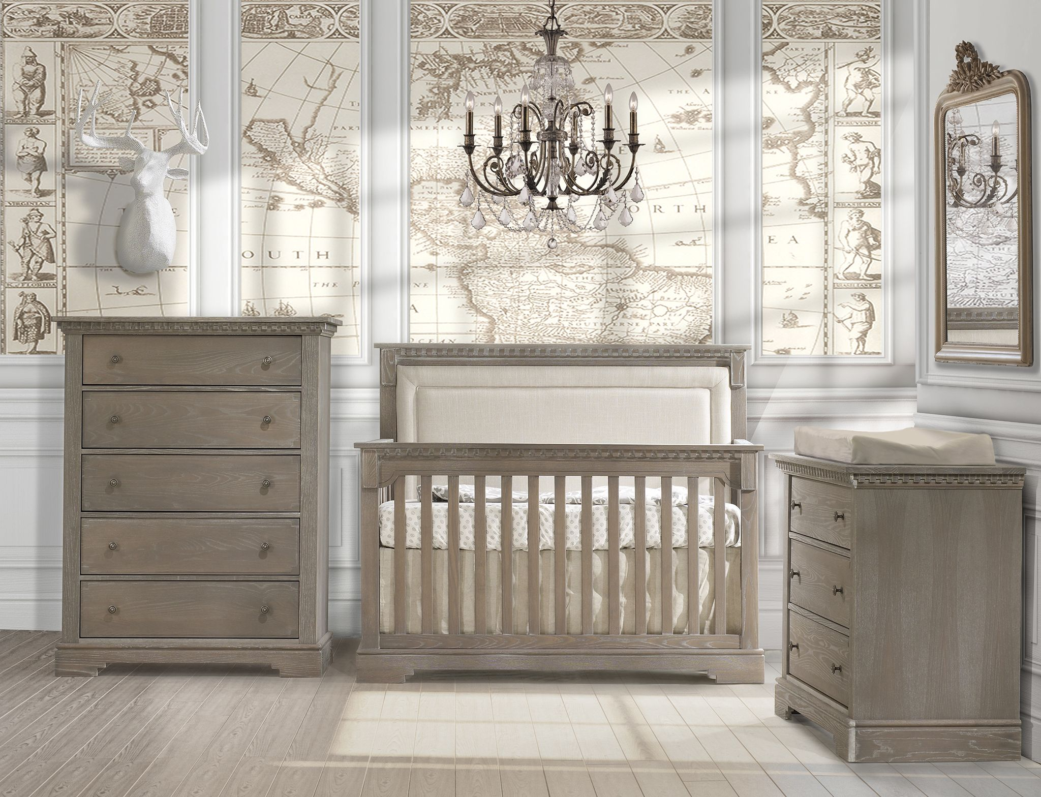 Great Crib Design And You Can Pick The Finish You