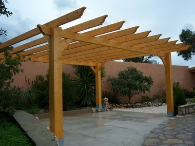 This Will Be Similar To Our New Pergola Tandem Parking