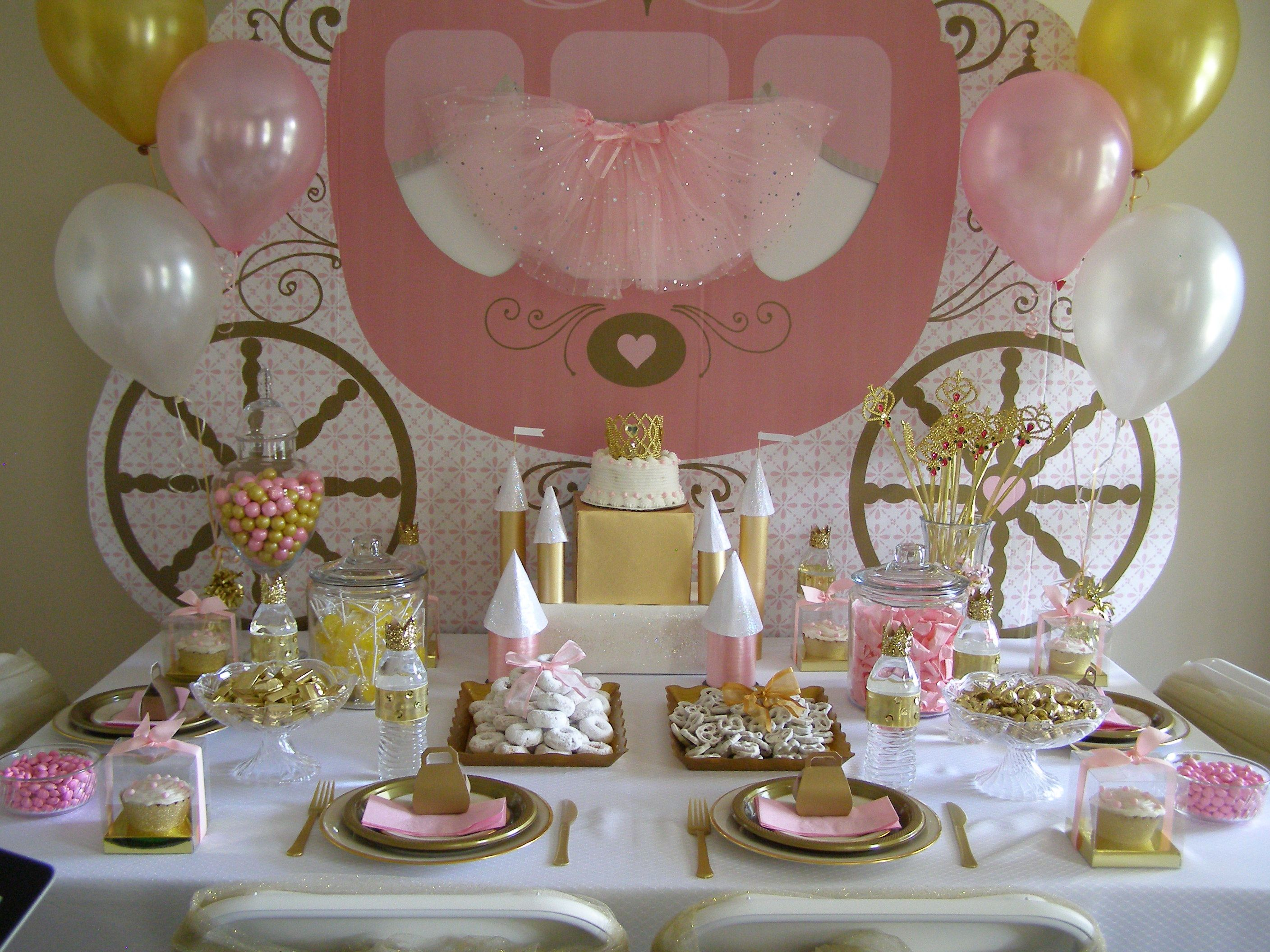 510 best DECORATIONS AT A PRINCESS PARTY images on Pinterest   Princesses,  Birthdays and Crown