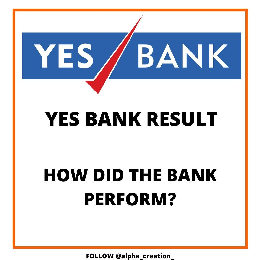 Swipe Left To See Entire Scenario In The News For Last Couple Of Months Yes Bank Has Now Declared Their Results In 2020 Yes Bank Financial Literacy Personal Finance