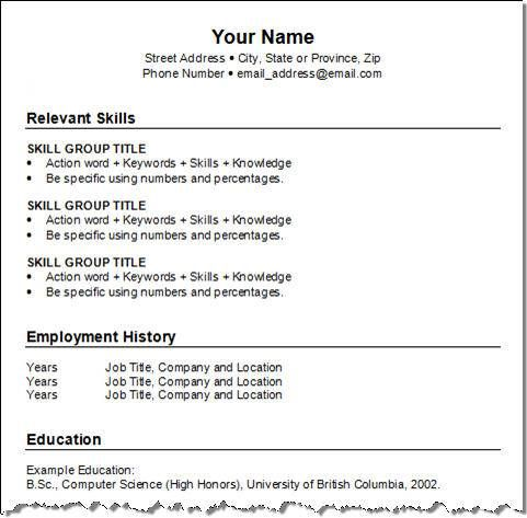 Free Resume Templates Pdf Downloads  Resume