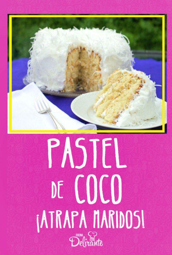 Pastel de coco atrapa maridos con leche condensada, ¡sin horno!