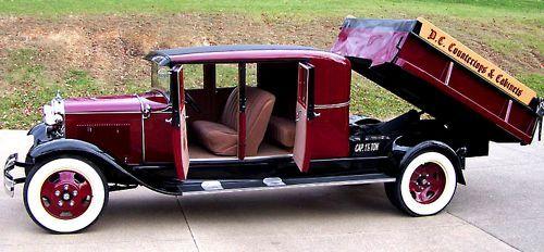 1930 Model A 1930 Model A Double Cab Dump Truck  Pinterest  Dump