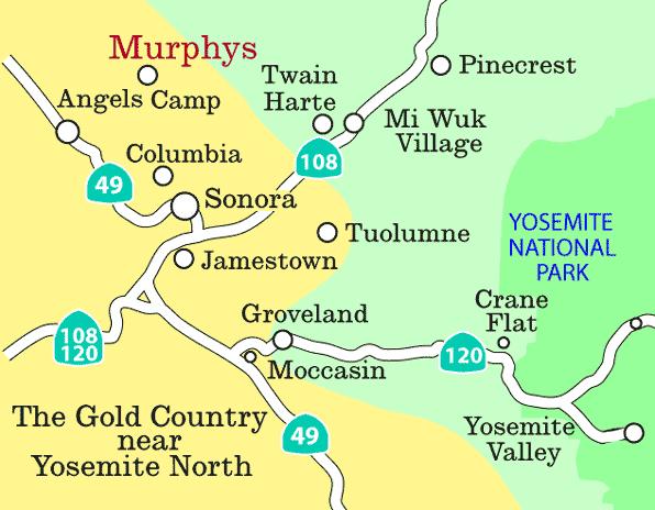 Murphys Ca Visitor Info Maps