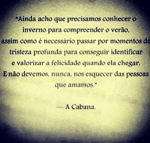 Muitas vezes A Cabana – William P. Young | Frases | Pinterest | Cabana EC24