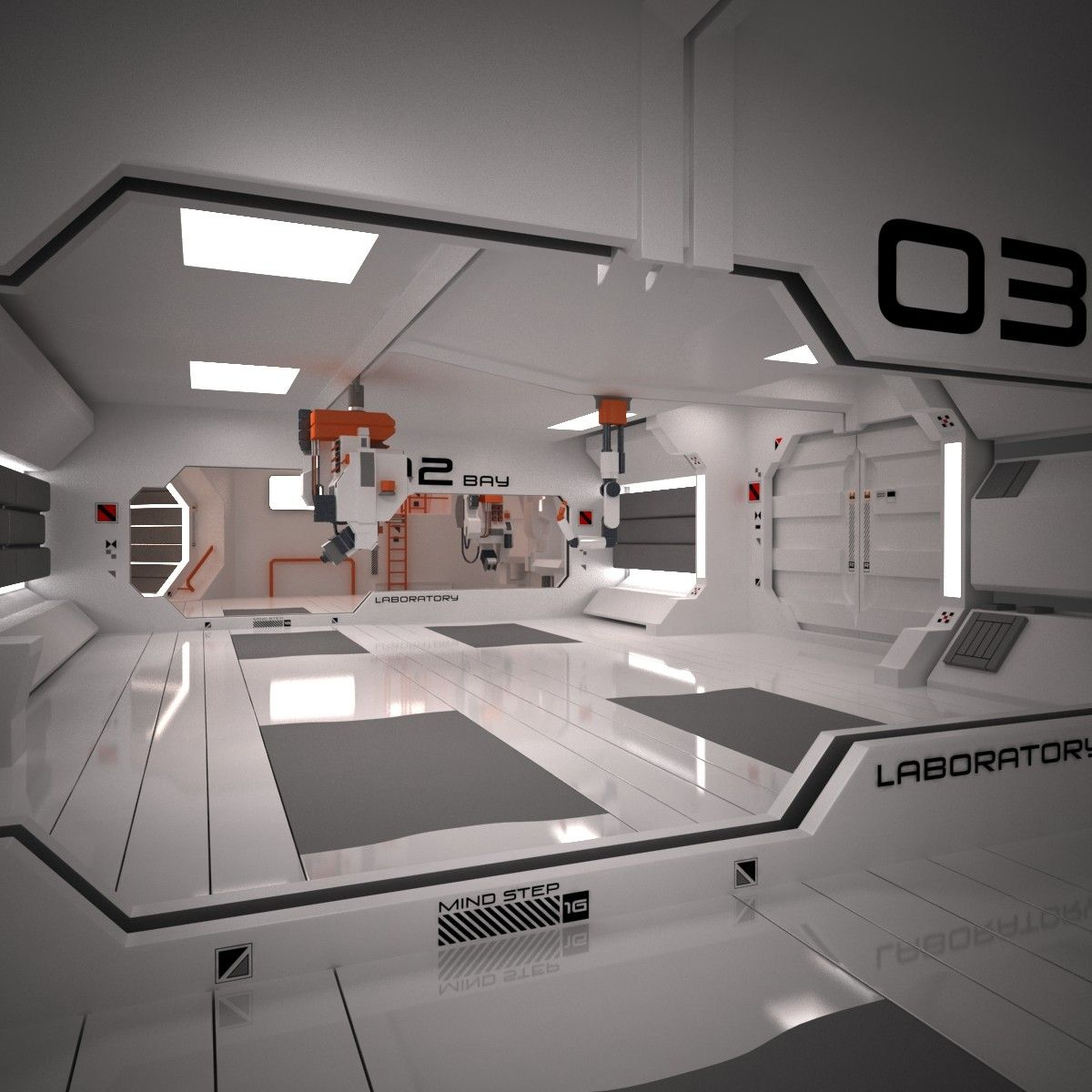 Nice Sci Fi Spacecraft Interior   Pics About Space