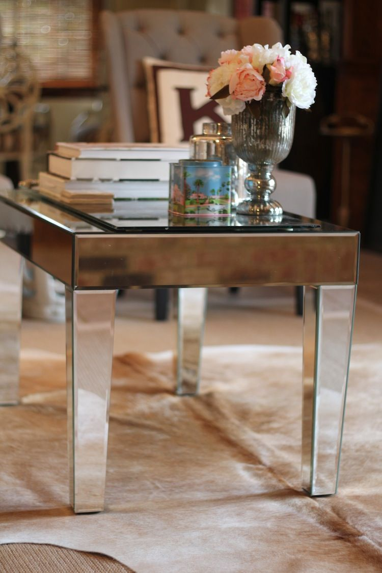 Mirrored Coffee Table Carrie Bradshaw Lied Lala Mirrored