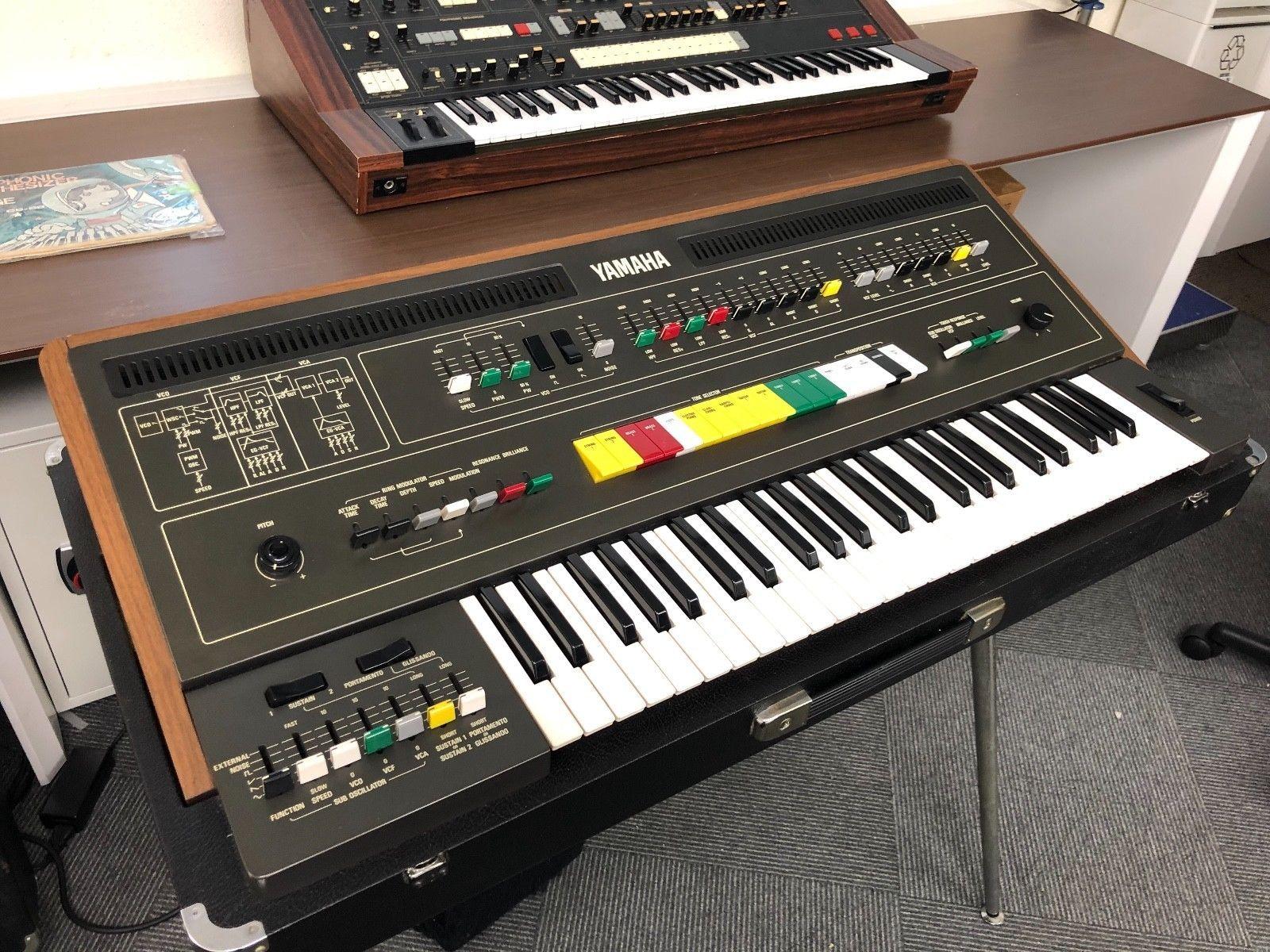 Yamaha Cs 50 Vintage Analog Synthesizer Ebay Synthesizer Yamaha